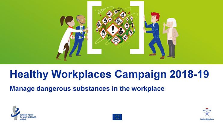 ELF orgulhosa com a sua parceria oficial com a campanha Locais de Trabalho Seguros e Saudáveis da EU-OSHA