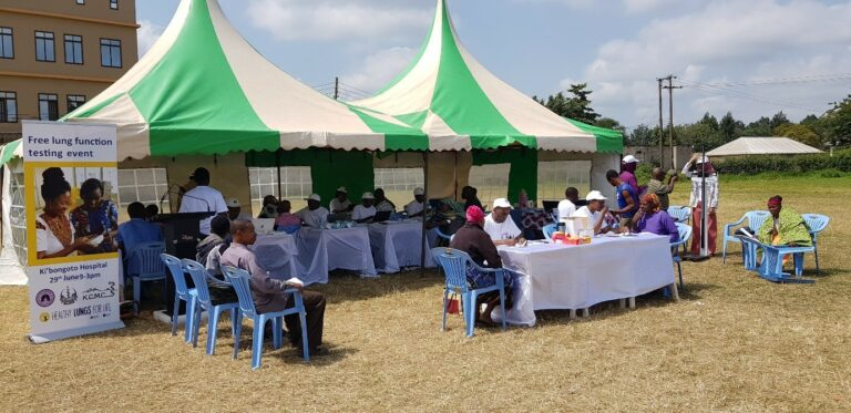 Spirometry training and testing events in Africa