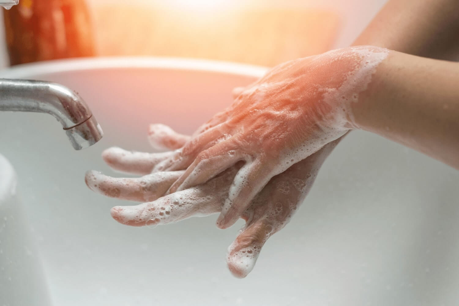 Experts suggest hand washing and distancing could be regularly used to slow spread of lung infections - Preview Image