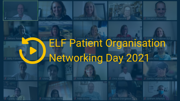 Patient organisations and healthcare professionals from 24 countries discuss digital health at our annual networking day